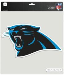 "NFL Carolina Panthers WCR75906012 Perfect Cut Decals, 8"" x 8"