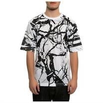 DOPE Mens The Carrara Football Jersey Graphic T-Shirt
