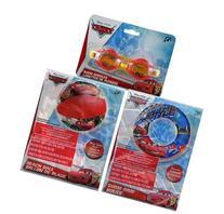 "Disney Cars 20"" Beach Ball + Swim Ring + Swim Goggles 3pc"