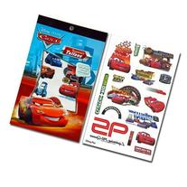 12-Piece Disney Pixar Cars Tattoo Sheets