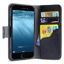 i-Blason 5.5-Inch Leather Wallet Case with Credit Card
