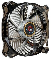 Lepa Casino 1 Color 120mm LED Cooling Case Fan, Black/Blue