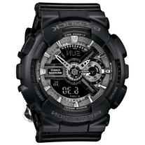 Ladies' Casio G-Shock S Series Black Flower Band Watch