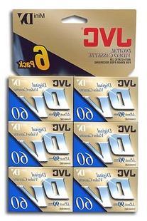 JVC Mini Digital Video Cassette MDV60ME6HT