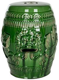 Safavieh Castle Garden's Collection Green Glazed Ceramic