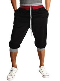 HEMOON Men's Casual Sports Jogging Harem Pants Jersey