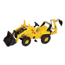 rolly toys CAT Construction Pedal Tractor: Backhoe Loader ,