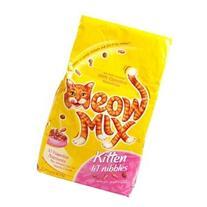 Meow Mix Cat Food, Kitten Li'l Nibbles, 3.15 lb