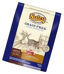 NUTRO Adult Cat Grain Free Duck and Potato Recipe Cat Food