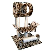 Go Pet Club Cat Tree Condo House, 18W x 17.5L x 28H Inches,