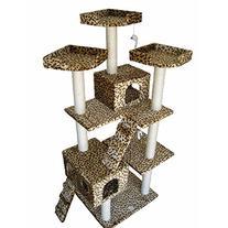 Go Pet Club Cat Tree Leopard Print