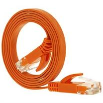 Fosmon Cat5e RJ45 FLAT Ethernet Network Cable for LAN, PC/