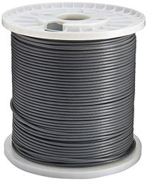Tripp Lite Cat6 Gigabit Bulk Solid PVC Cable Gray, 1000-ft