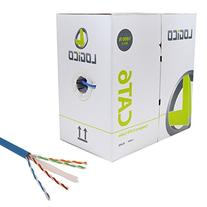 CAT6 1000FT UTP SOLID NETWORK ETHERNET CABLE BULK WIRE