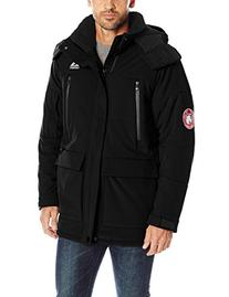 Gerry Men's Cathole Heavy-Weight Insulated Jacket, Black, XX