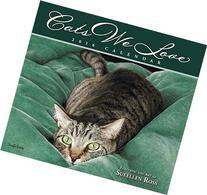 Cats We Love 2016 Deluxe Wall Calendar