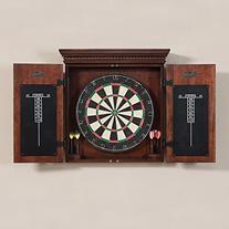 American Heritage Cavalier Bristle Dart Board Complete Set