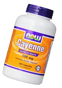 NOW Foods Cayenne, 500mg,  250 Vcaps
