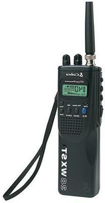 Cobra HH 38 WX ST 4-Watt 40-Channel CB Radio