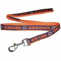 Pets First CBL-L Chicago Bears NFL Dog Leash - Large
