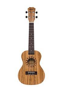 Caramel CC102A Zebra Wood Concert Acoustic Ukulele