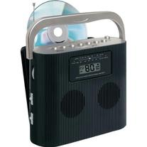 Jensen CD-470BK Portable Stereo Compact Disc Player with AM/
