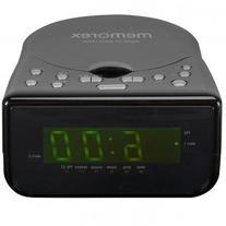 Memorex CD Alarm Clock Radio Black