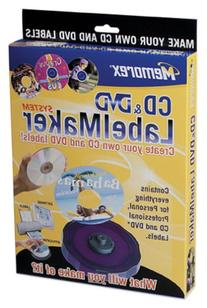 Memorex CD/DVD Compact LabelMaker System