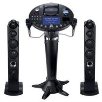 CD+G Singing Machine Karaoke Pedestal with iPod Dock and 7