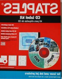 Staples CD Label Kit