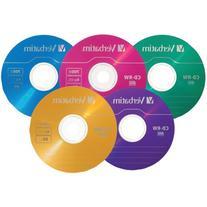 CD-RW Discs, 700MB/80min, 2X/4X, Slim Jewel Case, Matte