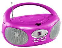 Riptunes CDB220P Portable Music CD Boombox Player, AM/FM