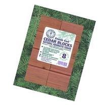 Cedar Aroma Blocks - Set of 8