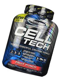 MuscleTech Cell Tech, Hardgainer Creatine Formula, Fruit