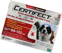 Certifect for Dogs 89-132 lbs 3 month supply