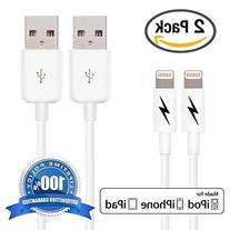 Certified iPhone 5 & 6 Charging Cable Lightning Cord -
