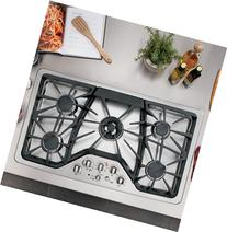 """CGP650SETSS 36"""" Built-In Gas Cooktop With 5 Sealed Cooktop"""