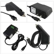 ChagerCity Exclusive 2A Wall Charger AC Adapter & 12v Car