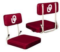 Oklahoma Sooners Hardback Stadium Seat