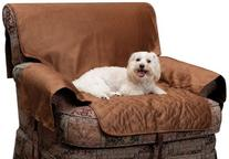 Solvit Chair Full Coverage Pet Bed Protector, Cocoa