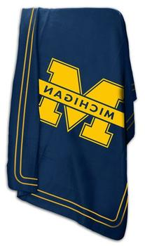 University of Michigan Wolverines Fleece Throw Blanket