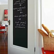 Houseables Chalkboard Wall Sticker, Blackboard Vinyl Sheet,