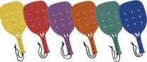 Champion Sports 15-Inch Paddleball Paddles, Set of 6
