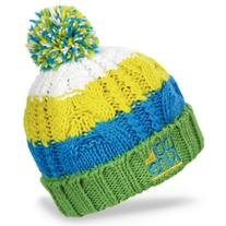 Dakine Kids Chance Beanie, Green Stripe