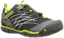 KEEN Chandler CNX Shoe ,Raven/Bright Chartreuse,10 M US