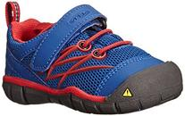 KEEN Chandler CNX Shoe ,True Blue/Mars Red,4 M US Toddler