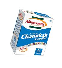 Manischewitz Chanukah Candles Colorful - 44 Ct