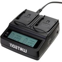 Watson Duo LCD Charger for BP-900 Series Batteries -For