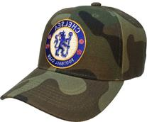 9394e8c6cb916 Chelsea FC Football Club Hat Camo Soccer Ball Cap Football