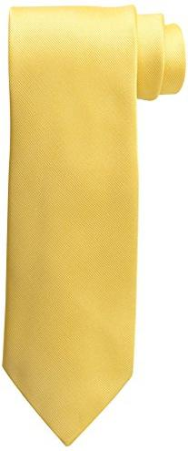 IZOD Men's Chesapeake Solid Tie, Yellow, One Size